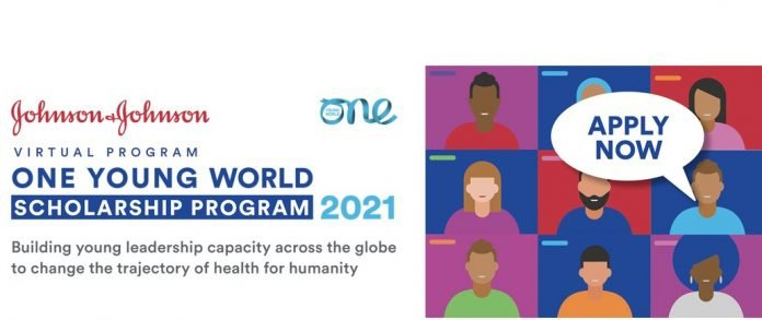 Johnson & Johnson/One Young World Virtual Scholarship Program 2021 for aspiring young health leaders