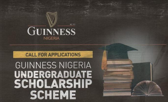 Guinness Nigeria Undergraduate Scholarship Scheme 2020/2021 for young Nigerians