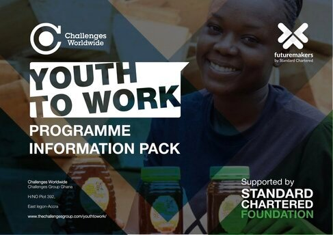 Standard Chartered Futuremakers Youth to Work Programme 2020 for young people across Africa.