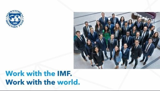 International Monetary Fund (IMF) 2021 Economist Program for recent PhD graduates.