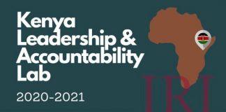 International Republican Institute (IRI) Kenya Leadership and Accountability Lab 2020/2021 for emerging Kenyan Leaders.