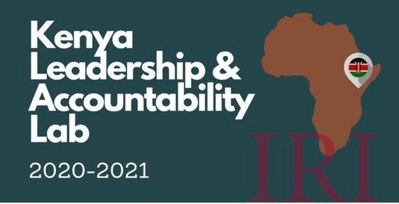 International Republican Institute (IRI) Kenya Leadership and Accountability Lab 2020/2021 for emerging Kenyan Leaders.