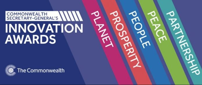 The Commonwealth Secretary-General's Innovation for Sustainable Development Awards 2021 for young Innovators (£45,000 in prize money)