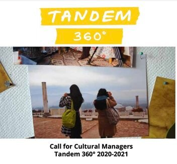 Tandem Cultural Exchange Programme 2020/2021 for cultural managers and civil society activists.