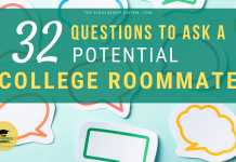 32 Questions to Ask a Potential Roommate for College