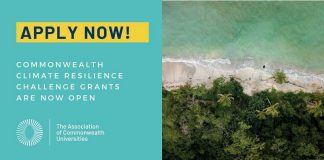 ACU Commonwealth Climate Resilience Challenge Grants 2020/2021 (up to GBP 2,500)