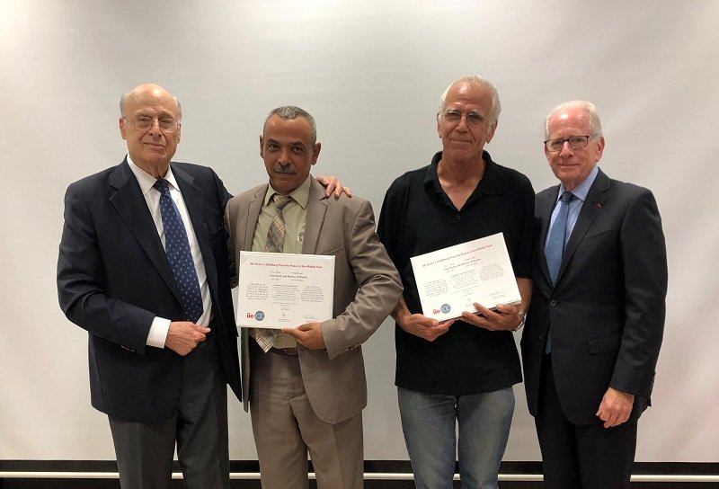 IIE Victor J. Goldberg Prize for Peace in the Middle East 2021 (US$10,000 prize)