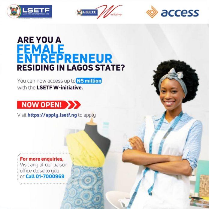 LSETF W-Initiative 2020 for Lagos women Entrepreneurs (5 million Naira)