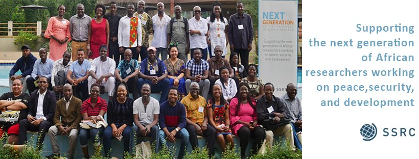 Next Generation Social Sciences in Africa: Doctoral Dissertation Research Fellowship 2020/2021 (up to US$15,000)