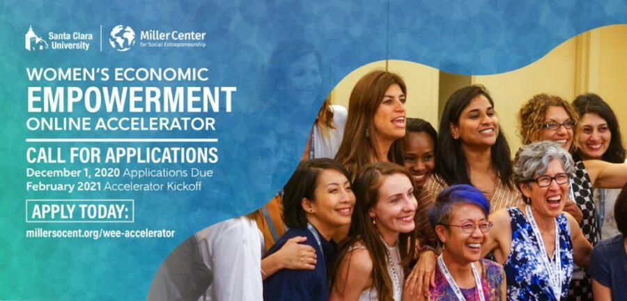 Miller Center Women's Economic Empowerment Online Accelerator 2021
