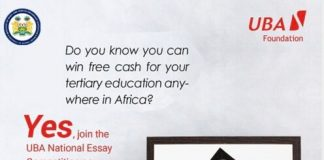 UBA Sierra Leone National Essay Competition 2020 for Secondary School Students