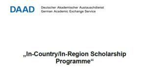 Call for Applications: CERM-ESA Master / PhD Scholarships 2021 in the DAAD In-Region/ In-Country Scholarship Programme