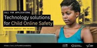 UNICEF Innovation Fund Call for Applications: Technology Solutions for Child Online Safety ($100K equity-free investments)