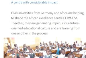 How the DAAD-Funded African Excellence Centres Contribute to the SDGs