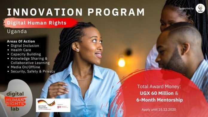 Digital Human Rights Lab Innovation Program 2021 for human rights defenders