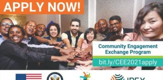 IREX Community Engagement Exchange (CEE) Program 2021 for young Innovators (Fully Funded to United States)