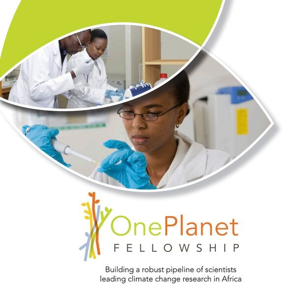 African Women in Agricultural Research and Development (AWARD) One Planet Fellowship 2021 for African Researchers.