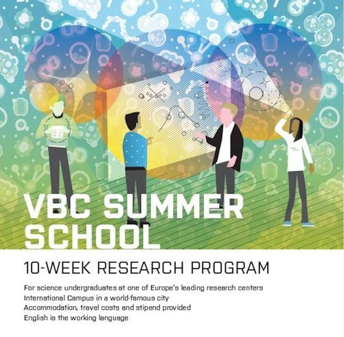 Vienna Biocenter Summer School 2021 for undergraduate students worldwide (Fully Funded to Vienna, Austria)