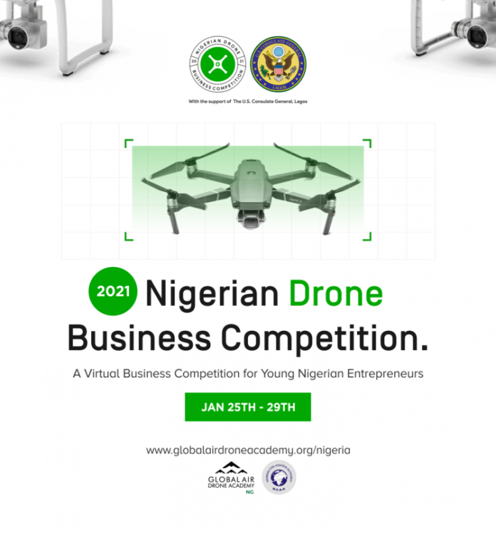 Global Air Drone Academy (GADA) Nigerian Drone Business Competition 2021 for young Nigerian Entrepreneurs.