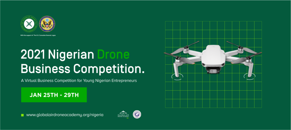 Nigerian Drone Business Competition 2021 for Early-stage Tech Entrepreneurs