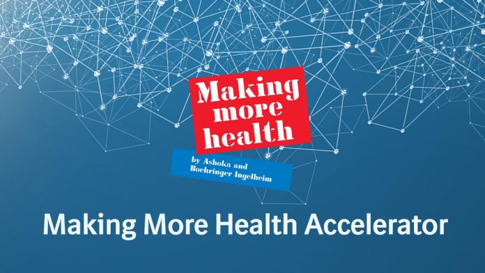 Ashoka/Boehringer Ingelheim Making More Health Co-creation Accelerator 2021 for Social Entrepreneurs (50,000 Euros in Funding)