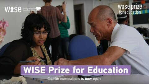 2021 World Innovation Summit for Education (WISE) Prize for Education ($500,000 Prize)