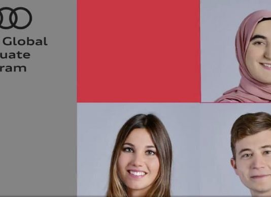 Audi Global Graduate Program 2021 for young Professionals.