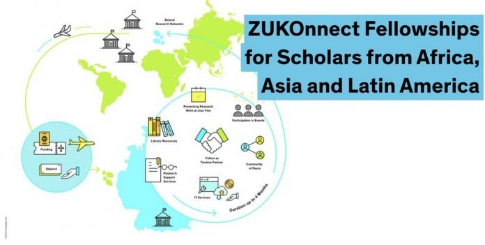 The Zukunftskolleg Konnect Fellowships 2021 for Early-Career Researchers from Developing Countries (Fully Funded)