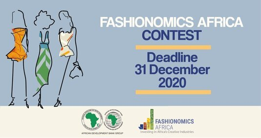 African Development Bank Fashionomics Africa Contest 2020 for African Designers (USD 2,000 cash Prize)
