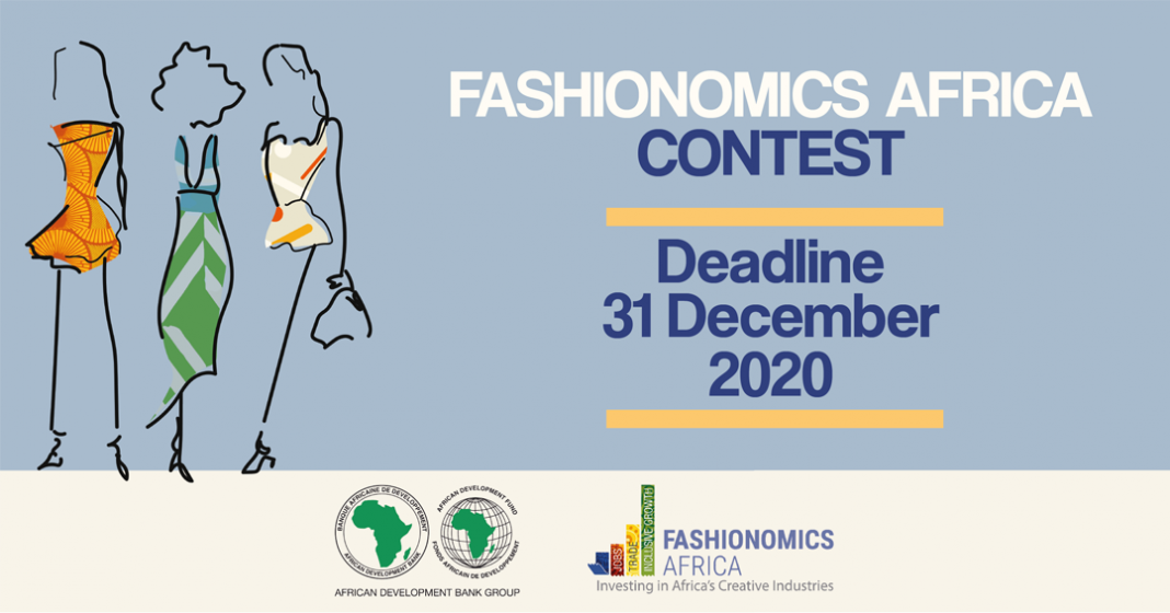 African Development Bank (AfDB) Fashionomics Africa Contest 2021 (USD $2,000  prize)