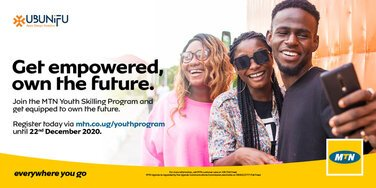 MTN Youth Skilling Program 2021 for young Ugandans