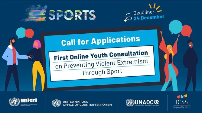 United Nations-led first Online Youth Consultation on Preventing Violent Extremism Through Sport.