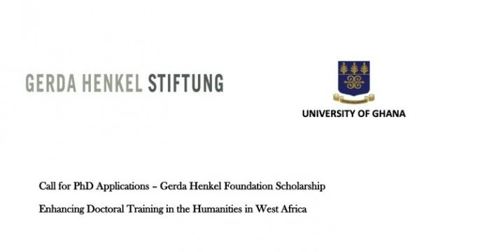 Call for PhD Applications –Gerda Henkel Foundation Scholarship 2021 for African PhD Students.