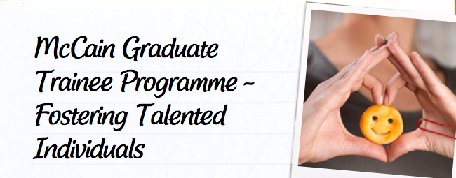 McCain Foods SA Graduate Trainee Programme 2021 for young South Africans.