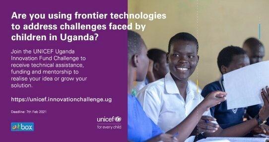 UNICEF Uganda Innovation Fund Challenge 2021
