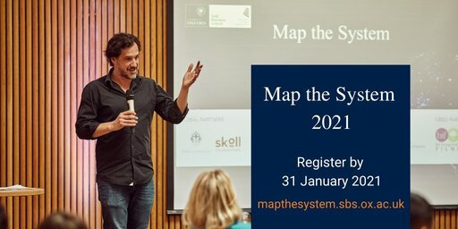 University of Oxford Saïd Business School Map the System Global Competition 2021 for young change Agents