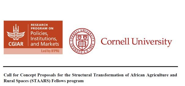 2021 STAARS Fellowship Program for early-career African Researchers.