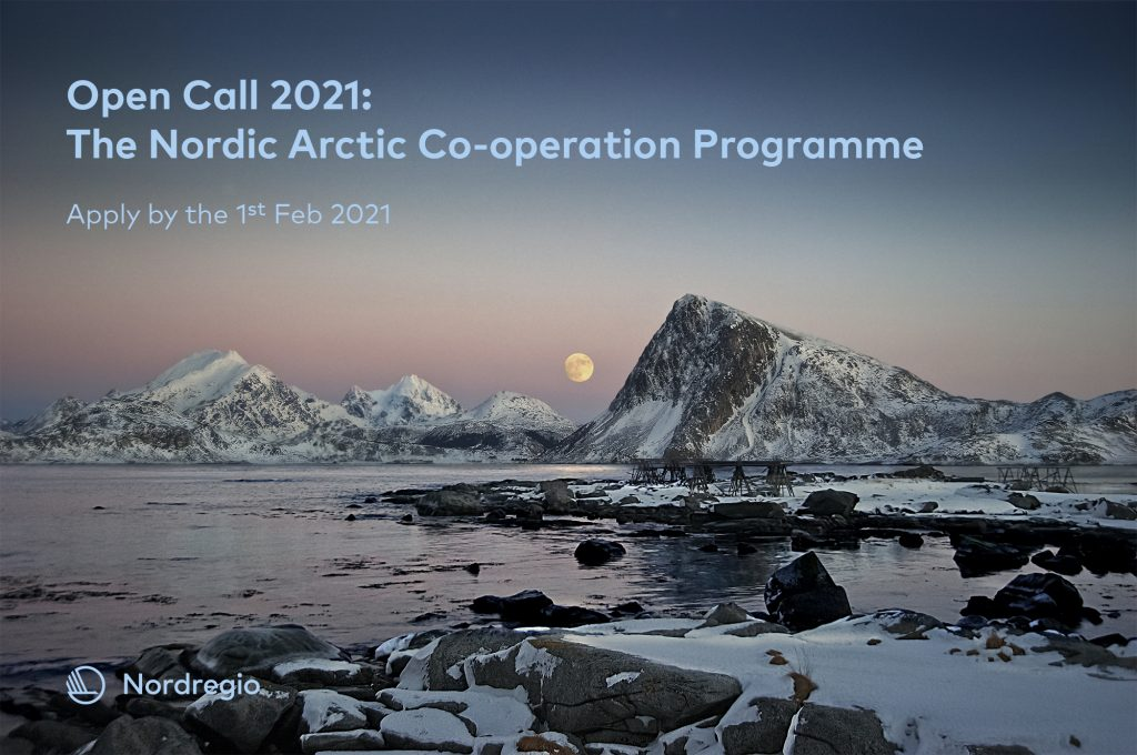 Call for Projects: Nordic Arctic Cooperation Program 2021 (up to DKK 500,000)