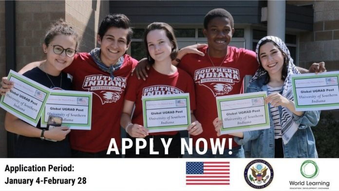 U.S. Department of State Global Undergraduate Exchange Program 2021/2022 (Global UGRAD) for Study in the United States (Fully Funded)