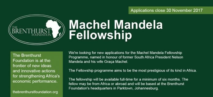 Machel-Mandela Fellowship Programme 2021 for young African graduates (Funded)