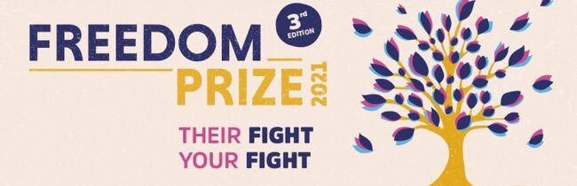 Région Normandie call for proposals 'Our Freedom Prize 2021' (€ 25,000)