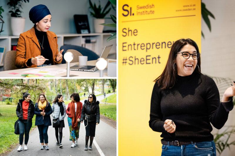 Swedish Institute She Entrepreneurs Leadership Program 2021 for Women Entrepreneurs in MENA
