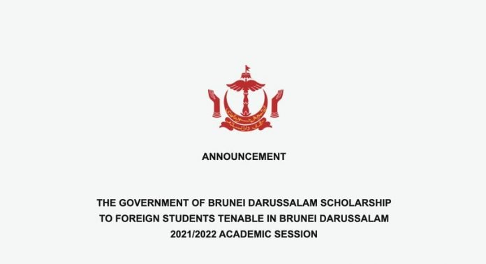 Government of Brunei Darussalam Scholarships 2021/2022 for Foreign Students (Fully Funded to Brunei)