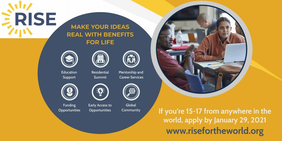 Rise Global Talent Program 2021 for Young Leaders