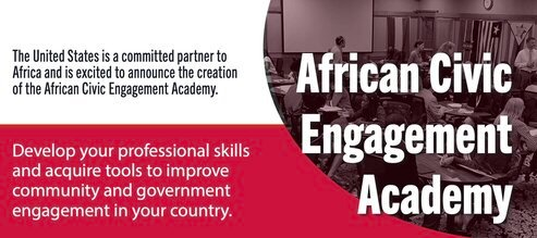 African Civic Engagement Academy (ACEA) 2021 for mid-career civil society and public leaders across sub-Saharan Africa.