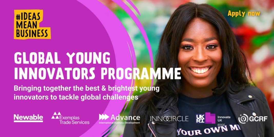 Global Young Innovators Program – South Africa 2021 (R200,000 funding grant)