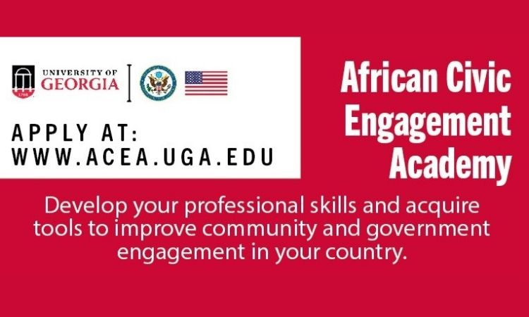 Call for Applications: African Civic Engagement Academy (ACEA) 2021