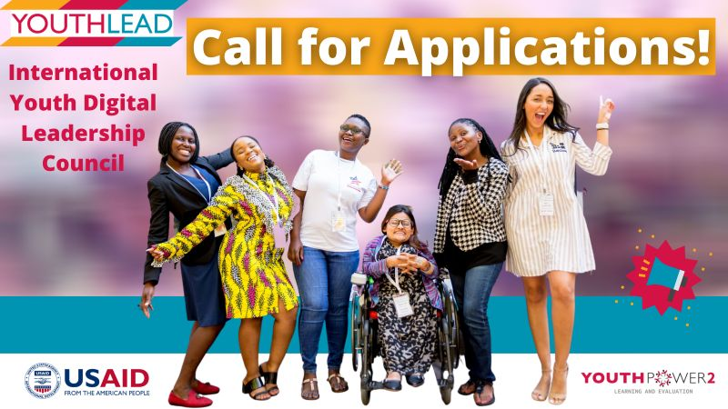 Call for Applications: USAID CECA International Youth Digital Leadership Council  2021