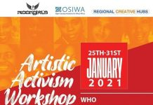 MoonGirls/OSIWA Artistic Activism Workshop 2021 in Accra, Ghana (Fully Funded skill-sharing programme)