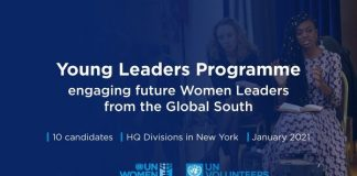 UN Women Young Women Leaders Programme 2021 for women Leaders from the global South.